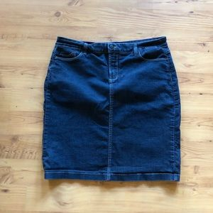Not Your Daughter's Jean Denim Skirt